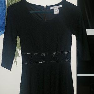 American Rag black skater dress